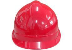 红色T型安全帽