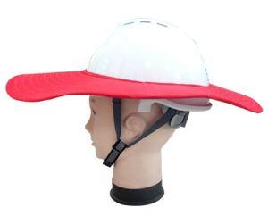 防晒帽红色